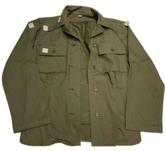 Unused 1943 WWII U.S. Army HBT Women's Special Shirt 16-18 Med Cutter's Tags WW2 - $177.61