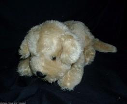 "10"" Vintage B EAN Bag Of Ace Novelty Brown Tan Puppy Dog Stuffed Animal Plush Toy - $23.01"