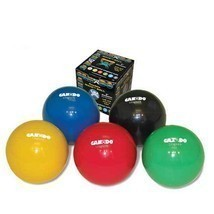 Cando Wate Ball - Plyometric Weighted Ball 6 Piece Set (Tan/Yellow/Red/G... - $102.95