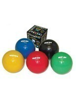 Cando Wate Ball - Plyometric Weighted Ball 6 Piece Set (Tan/Yellow/Red/G... - £80.22 GBP