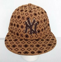 "New Era Men's New York Yankees Baseball Cap 7 1/4"" 59 Fifty 100% wool - $12.53"