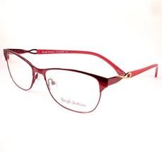 Rough Justice Eyeglasses Vamp Red Women New 54-14-140 - $79.19