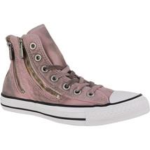 Women Converse Chuck T All Star DUAL ZIP Hi WASH Size 5, 549738C Pink Fr... - $1.523,91 MXN