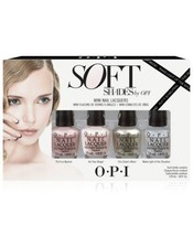 OPI Soft Shades Mini Pack 4 pcs 0.5 fl oz - $16.90