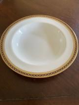 """Spode Copeland's England Majestic 7 7/8"""" Soup Bowl White w/Cobalt & Gold... - $37.99"""