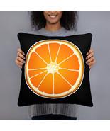 Slice Of Orange Pillow Cushion - $28.50+