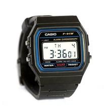 Casio Men's F91W-1 Classic Black Digital Resin Strap Watch - $28.29 CAD