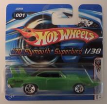 2006 Hot Wheels '70 Plymouth Superbird car # 1/38 Short Card - New - $7.50
