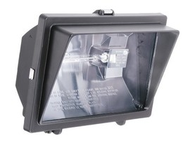 Lithonia Lighting OFL 300/500Q 120 LP BZ M6 Light Visor Flood Light with One 300 - $23.45
