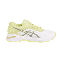 Asics GT-2000 6 Lite-Show Women's Shoes White-Silver-Limelight T884N-0193 - $73.95
