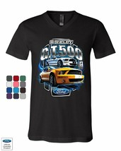 Shelby GT500 Ford Performance V-Neck T-Shirt Ford Mustang Cobra Racing Tee - $15.72+