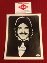 TONY ORLANDO singer songwriter signed 8x10 photo  COA - $80.00
