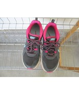 Nike Wild Trail Women's athletic shoes, lace up, pre-owned, grey/pink - $24.75