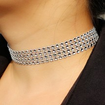 Steampunk Choker Necklace American & European Style Wedding Engagement N... - $5.06