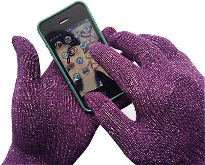 Womens And Mens Sport IPhone Touchscreen Gloves, Texting Gloves For Smartphones