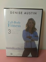 Denise Austin (DVD) Full-Body Fitness, 3 Workouts, Healthy Life - New & ... - $34.99