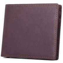 Bifold Leather Wallets for Man,RFID Blocking Wallet for Man Card Holder ... - $11.82