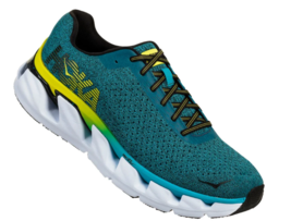 Hoka One One Elevon Size 11.5 M (D) EU 46 Men's Running Shoes Black Blue 1019267