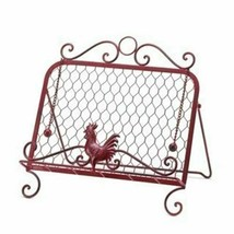 Red Rooster Cookbook Stand - $23.99