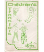 Vintage 8 Sheets Childrens Artex Embroidery Needlepoint Iron On Transfers #0245 - $12.99