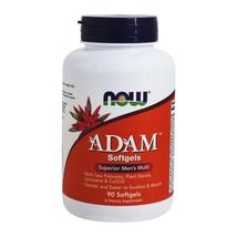 NOW Foods ADAM Superior Men's Multi, 90 Softgels - $22.82