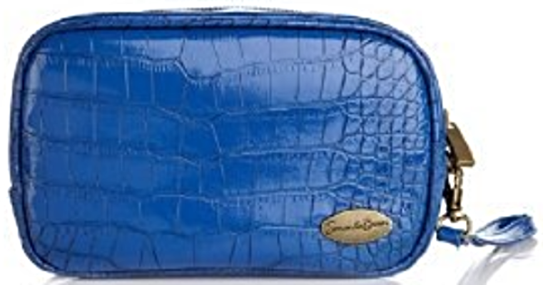 Samantha Brown Luggage Qvc: Samantha Brown Embossed Cosmetic Bag Cool It Technology