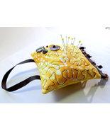 Pin Cushion, Handmade Fragrance Sachet, Mini Hanging Pillow, Door Hanger... - $8.45