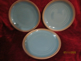 Noritake Madera Spruce set of 3 dinner plates  - $44.50