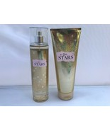 SET BATH AND BODY WORKS IN THE STARS FRAGRANCE MIST AND BODY CREAM - $122.88