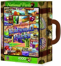 America's National Parks Jigsaw Puzzle in Collector Suitcase 1000 pc #71132 - $39.99