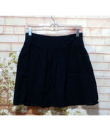Black Eyelet Full Skirt So cute! Size 0  (Runs Large to Tag) - $18.05
