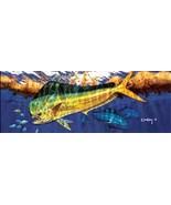 """Don Ray 65"""" X 24"""" Rear Window Dolphin/Mahi/Dorado Graphic - SHIPS FREE (... - $50.00"""