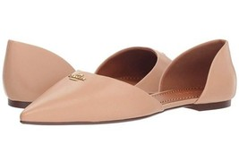Coach Leather Pointy Toe Flat Beechwood - $89.99