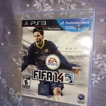 FIFA 14 (Sony PlayStation 3, 2013) PS3 Playstation Move Compatible - $6.57