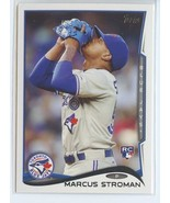 MARCUS STROMAN SP RC 2014 Topps Update #US197B LOOKING UP VARIATION SHOR... - $5.49