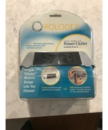 ROLODEX Dual-Power Outlet Hub - Electronics Two-part A.C. Power Outlet 8... - $15.00