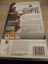 Sony PSP~PAL REGION The History Channel: Great Battles Of Rome image 3