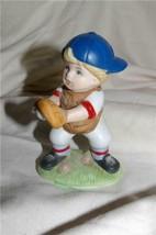 Homco Baseball Catcher Figurine 1468 Home Interiors - $7.99
