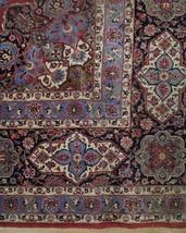 11x17 Red Traditional Handmade Fine Quality Sheik Safi Najaf Persian Rug image 2