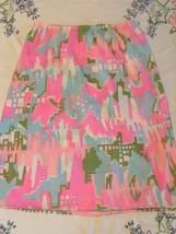 Vintage 1960's Bright Color Mod/GoGo Nylon Half Slip Skirt Lingerie - $17.77
