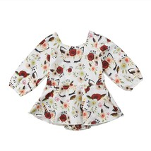 Spring Unicorn Kids Baby Girls Outfits Clothes Tops Tutu Romper Sunsuit ... - $10.29+