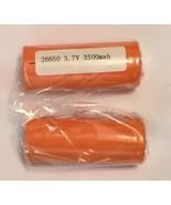 MNKE Roydex Rechargeable IMR 26650 3500mAh 3.7V High Drain LiMn Battery ... - $36.95