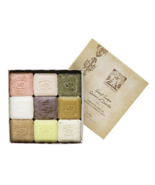Pre de Provence 9 Pc Natural Assorted French Luxury Gift Soaps - Great G... - £24.04 GBP