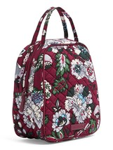 Vera Bradley Quilted Signature Cotton Iconic Lunch Bunch Bag, Bordeaux Blooms