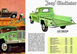 1962 Jeep Gladiator - Promotional Advertising Poster - $9.99+