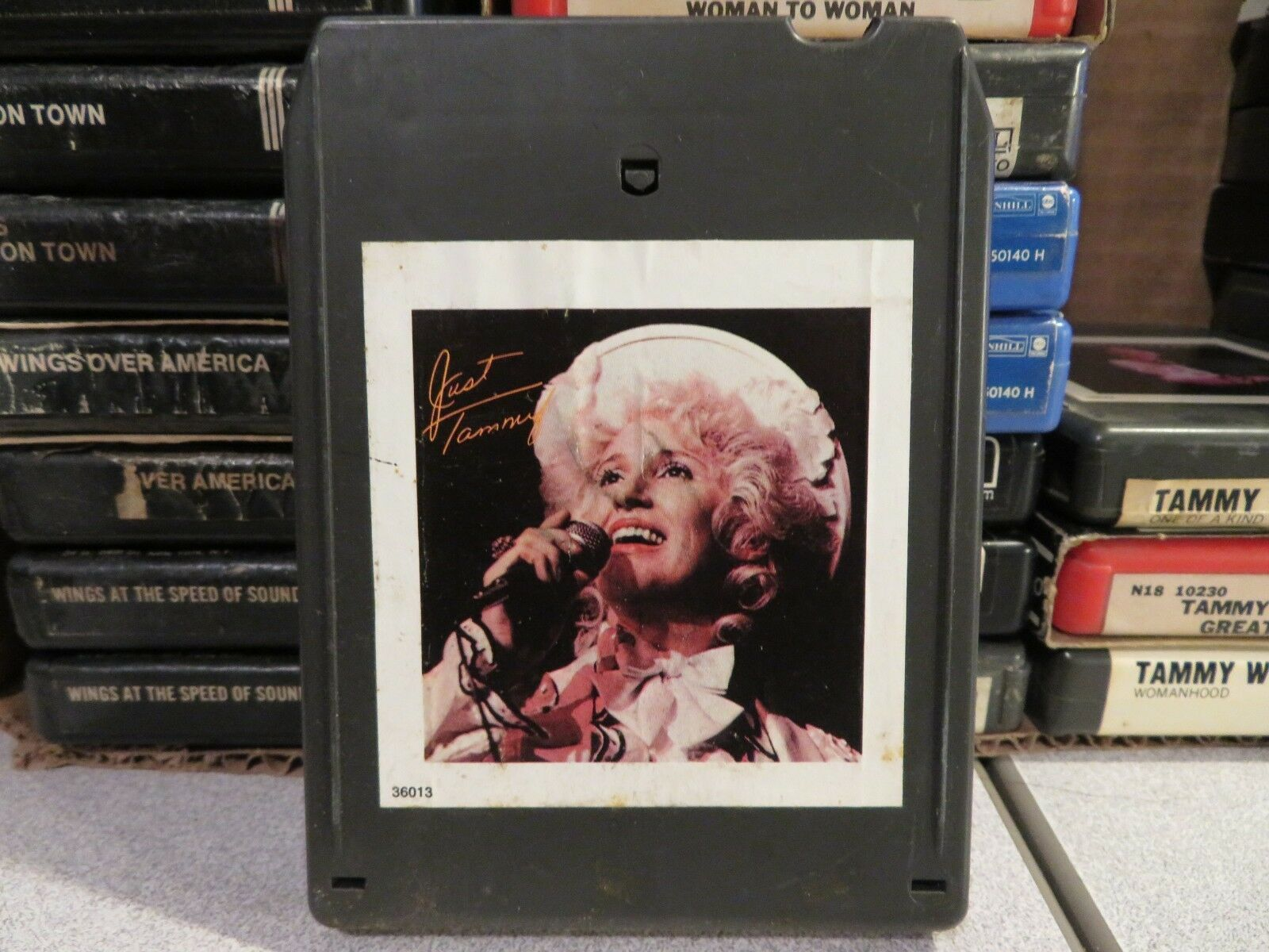Primary image for TAMMY WYNETTE Just Tammy (8-Track Tape)