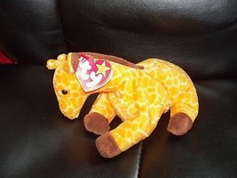 TY Beanie Baby Twigs the Giraffe Retired PVC Pellets NEW - $32.80