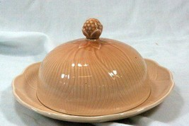 Mikasa 1988 Amaryllis #FT200 Spring Line Round Covered Butter Dish - $24.25
