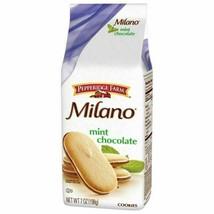 NEW Pepperidge Farm Milano Mint Chocolate Cookies Fast Shipping! - $12.38