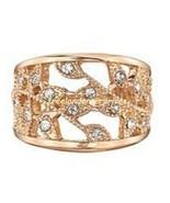 Ring Stylish Elegance Ring ~ Goldtone ~ Size 8 ~ NEW Boxed (2019) - $19.75